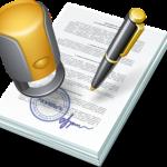 Подписание-договора